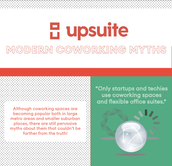 Upsuite Coworking Myths Infographic