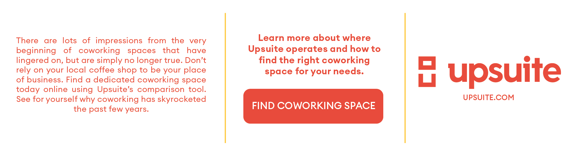 Coworking Myths Infographic Upsuite Footer