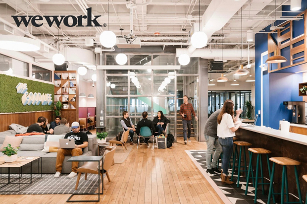 Custom buildout in coworking space