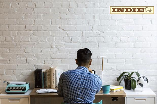 Dedicated desk in coworking space