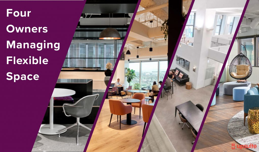 Four Owners that Companies Should Look to For Flexible Workspace